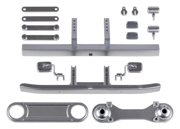 Associated 41066 Toyota FJ45 Bumpers & Body Accessories Satin Chrome : CR12