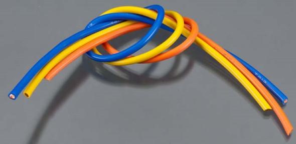 TQ Wire 1304 13 Gauge Wire 1' 3-Wire Kit Blue/Yellow/Orange