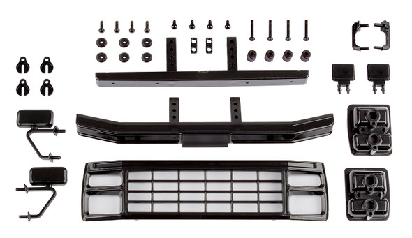 Associated 41080 Ford F150 Grill & Accessories Set Black : CR12