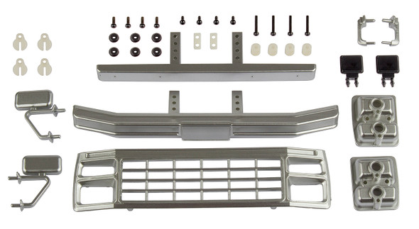 Associated 41081 Ford F150 Grill & Accessories Set Satin Chrome : CR12