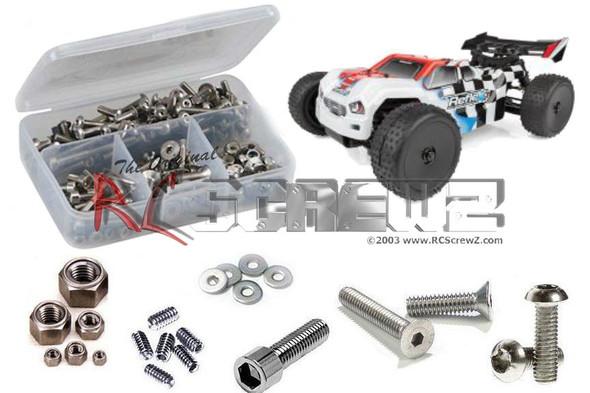 RC Screwz ASS099 Associated Reflex 14T 1/14th Stainless Screw Kit