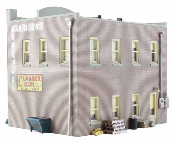 Woodland Scenics Built / Ready Harrison's Hardware N Train Building BR4921