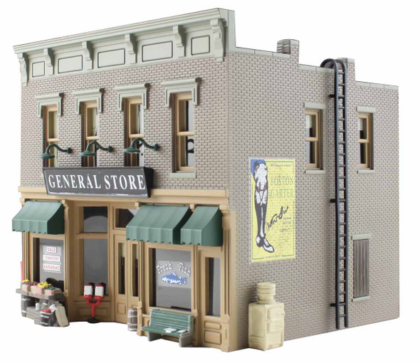 Woodland Scenics Built / Ready Lubener's General Store N Train Building BR4925