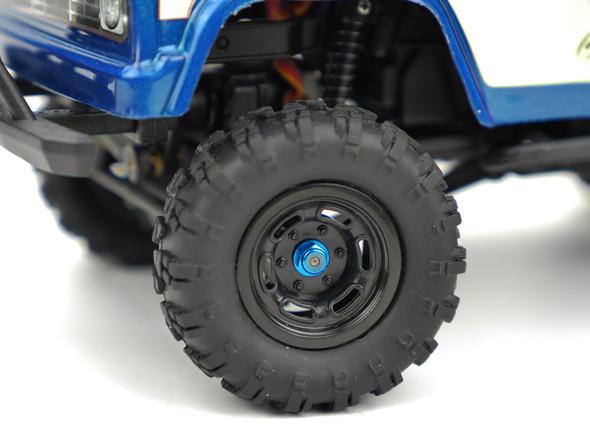 Carisma 16095 Wheel Lock Nut Set Light Blue : MSA-1E