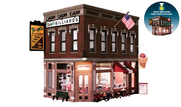 Woodland Scenics Corner Emporium O Railroad Train Building  BR5844