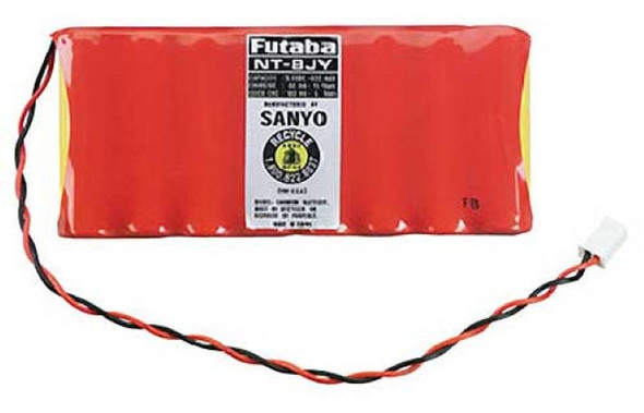 Futaba NT8JY NiCd 8-Cell 9.6V 600mAh Transmitter Battery