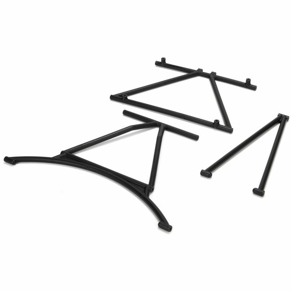 Losi LOS251004 Front & Rear Cage Supports and Roof Cross Bar : Mini WRC