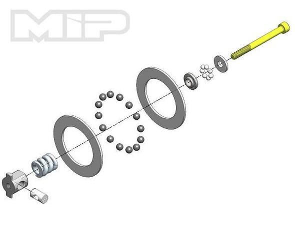 MIP 17065 Super Diff Carbide Rebuild Kit : Team Losi Racing 22 Series