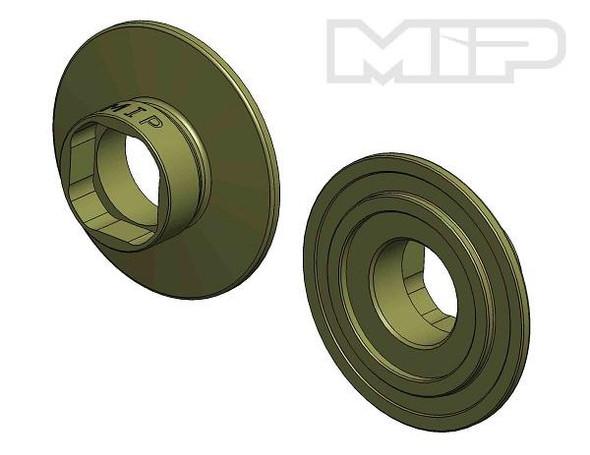MIP 17092 Super Diff Bi-Metal Hub Team Associated B6 Series (2)