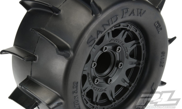 "Pro-Line 1186-10 Sand Paw 2.8"" All Terrain Tires/Wheels Mounted : Stampede/Rustler 2wd & 4wd Front & Rear"