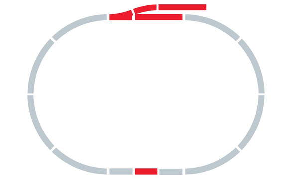 Hornby R8221 Track Extension Pack A : OO / HO Scale