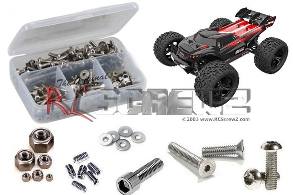 RC Screwz RCR061 RedCat TR-MT8e BE6S Stainless Screw Kit