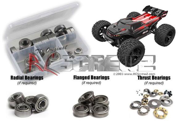 RC Screwz RCR061B RedCat TR-MT8e BE6S Metal Shielded Bearing Kit