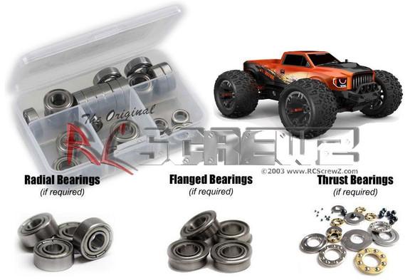 RC Screwz RCR062B RedCat TR-MT10e Metal Shielded Bearing Kit