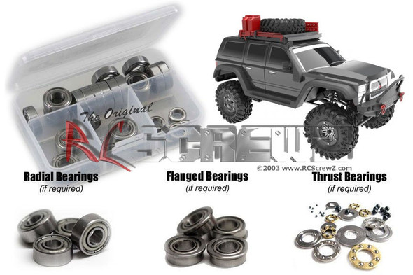 RC Screwz RCR064B RedCat Racing Everest Gen 7 Metal Shielded Bearing Kit
