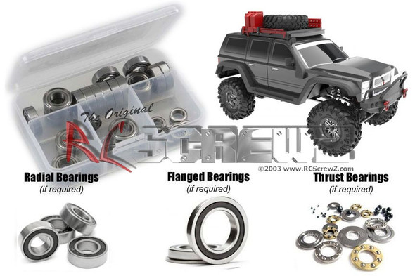 RC Screwz RCR064R RedCat Racing Everest Gen 7 Rubber Shielded Bearings Kit