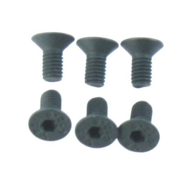 Redcat 126306 3x6mm Steel FH Screw (6) : TR-MT10E / TR-MT8E / TR-MT8E-BE6S