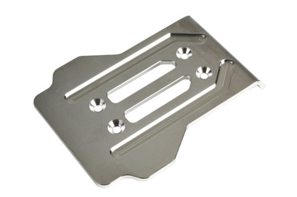 Redcat 505229 CNC Machined Stainless Chassis Guard-Rear : TR-MT8E / TR-MT8E-V2