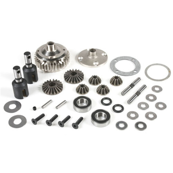 Redcat 505230ST Center Differential Set With Steel Case : TR-MT8E / TR-MT8E-V2