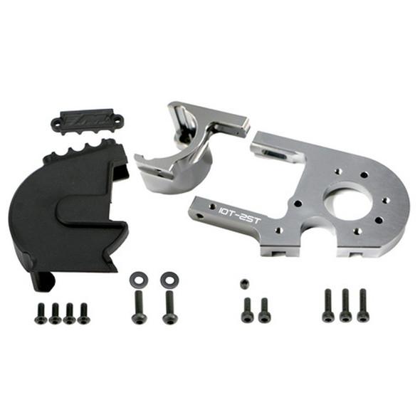 Redcat 505249TI Adjustable Motor Mount /W Cover-TI : TR-MT8E / TR-MT8E-V2