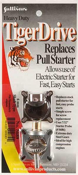 Sullivan TigerDrive Adapter 6mm Dynamite .12-.25 S689