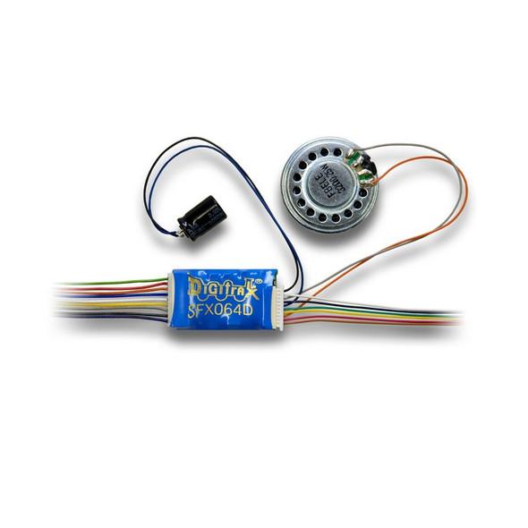 Digitrax SFX064D 1 Amp HO Scale SoundFX+Function Decoder