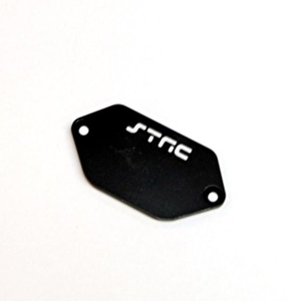 STRC STV231037BK Aluminum ESC Plate : Vaterra Ascender Black