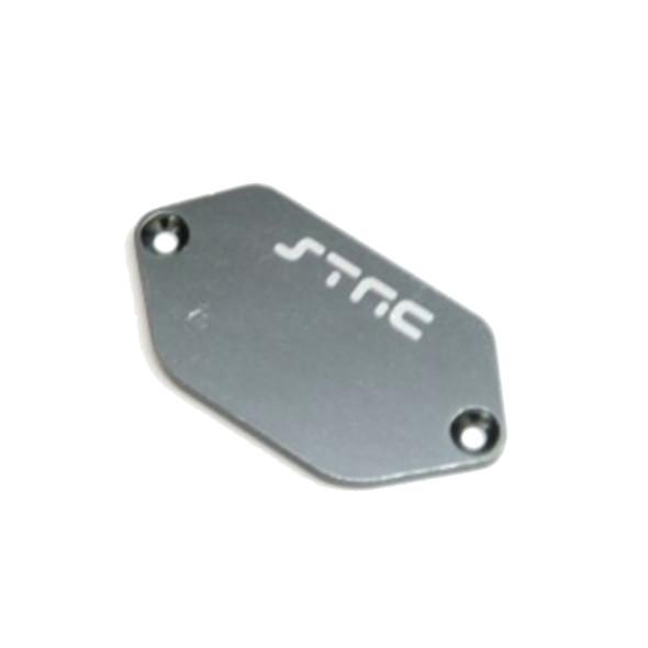 STRC STV231037GM Aluminum ESC Plate : Vaterra Ascender Gun Metal
