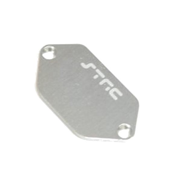 STRC STV231037S Aluminum ESC Plate : Vaterra Ascender Silver