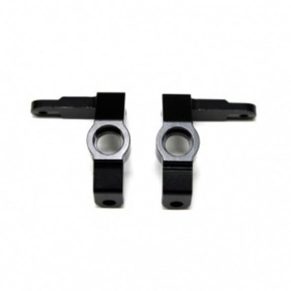 STRC STV334018BK Alum. Front Steering Knuckles (1Pr) : Vaterra Ascender Black