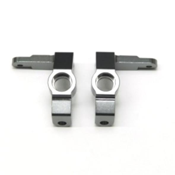 STRC STV334018GM Alum. Front Steering Knuckles (1Pr) : Vaterra Ascender GunMetal