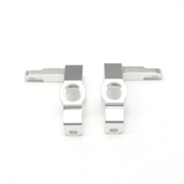 STRC STV334018S Alum. Front Steering Knuckles (1Pr) : Vaterra Ascender Silver