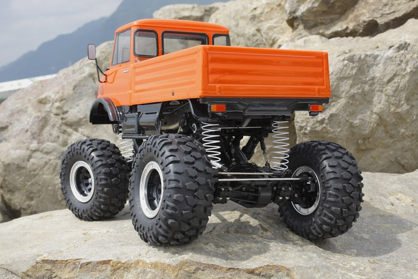 Tamiya 58414 1/10 Mercedes-Benz Unimog 406 CR-01 4X4 Off Road Truck Kit