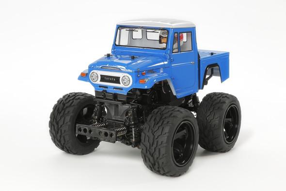 Tamiya 58589 1/12 Toyota Land Cruiser 40 Blue 4WD Off Road Pickup Truck Kit