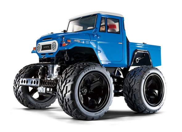 Tamiya 58589 1/12 Toyota Land Cruiser 40 Blue 4WD Off Road Pickup Truck Kit