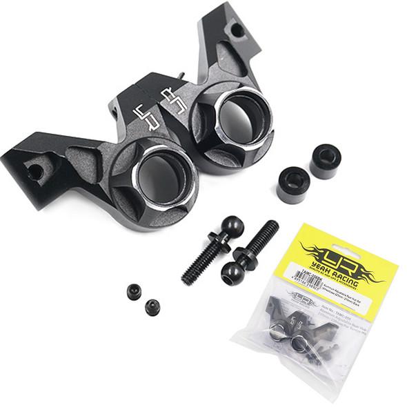 Yeah Racing TAMC-056BK Aluminum Wheelbase Rear Hub (2) Black : Tamiya M07