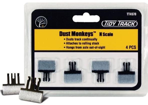 Woodland Scenics Tidy Track Dust Monkeys N TT4570