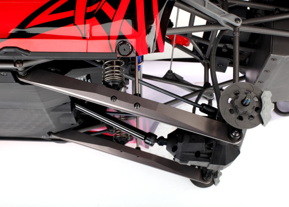 Traxxas 8544A Aluminum Trailing Arm Dark Titanium (2) Assembled w/ Hollow Balls : UDR