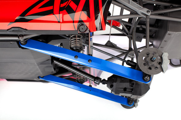 Traxxas 8544X Aluminum Trailing Arm Blue (2) Assembled w/ Hollow Balls : UDR