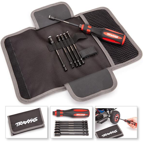 Traxxas 8719 Premium (6Pcs) Metric Nut Driver Master Set w/ Carrying Case