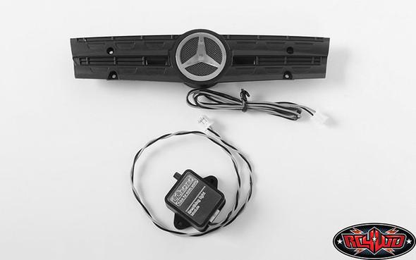RC4WD Ambient Light Grill Logo w/Strobe Effect Unit : Mercedes-Benz Arocs 3348 6x4 Tipper Truck (A)