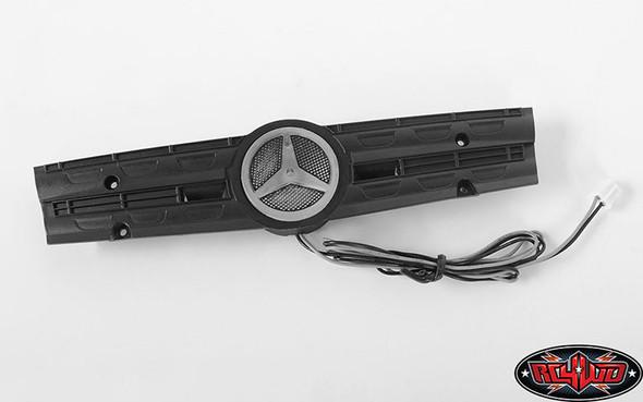 RC4WD Ambient Light Grill Logo W/Strobe Effect Unit : Mercedes-Benz Arocs 3348 6x4 Tipper Truck (B)