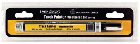 Woodland Scenics Tidy Track Track Painter Weathered Tie TT4582