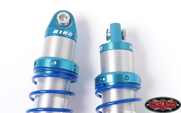 RC4WD Z-D0068 King Off-Road Dual Spring Shocks :Axial Yeti Front 100mm Medium OD