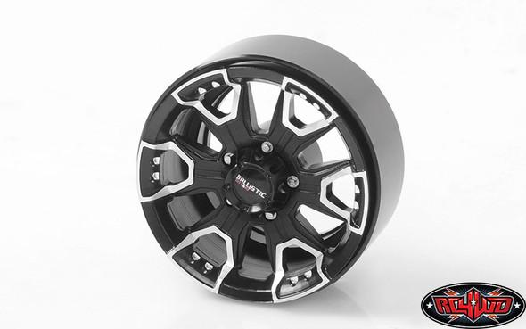 "RC4WD Ballistic Off Road Havoc 1.7"" Beadlock Wheels (4) Z-W0224"