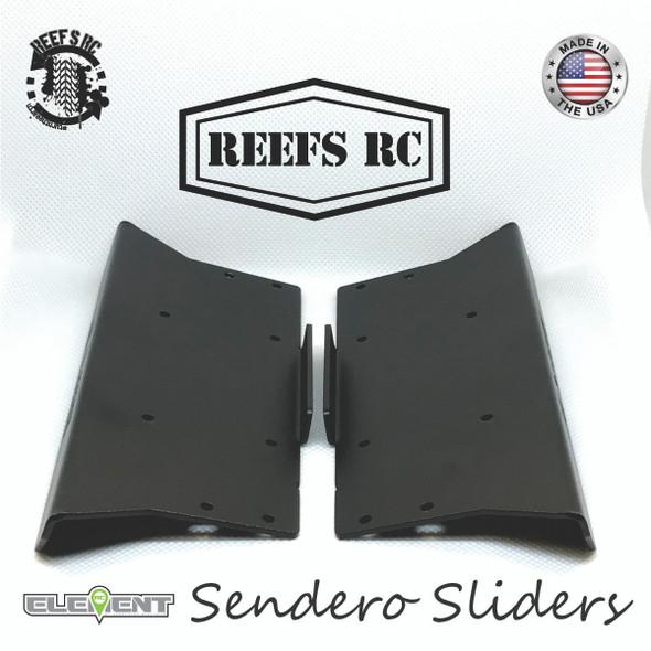 Reef's RC REEFS42 Hardened Steel Laser Cut Sliders : Enduro Sendero