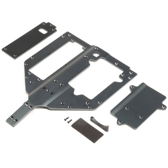 Losi LOS251083 Chassis Motor & Battery Cover Plates : Super Rock Rey