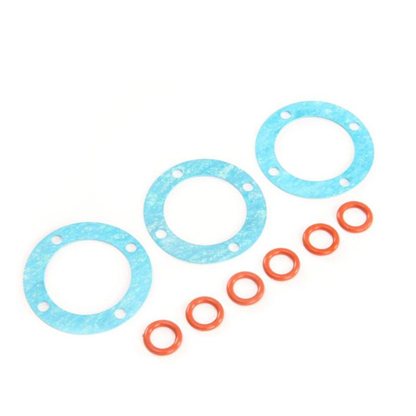 Losi LOS252097 Outdrive O-rings and Differential Gaskets (3) : 5ive-T 2.0