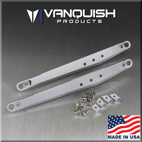 Vanquish VPS07351 Clear Anodized Trailing Arms Axial Yeti