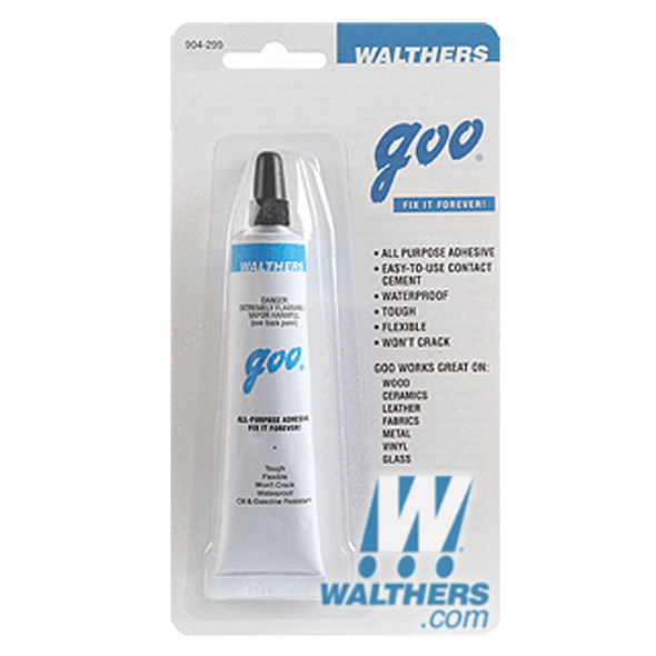 Walthers 904-299 GOO(R) 1oz 29.6mL Adhesive Tube : ALL Scales